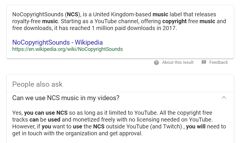 Youtube Ncs